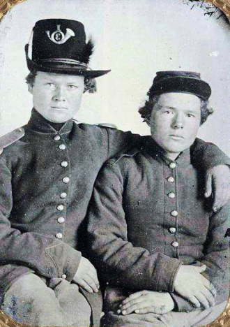 Gripman brothers, Civil War.