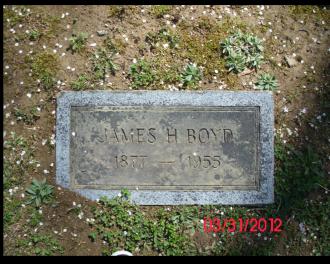 James H. Boyd Gravesite