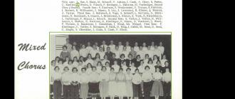 Edward Alvin Wentz--U.S., School Yearbooks, 1900-1999(1956)mixed chorus