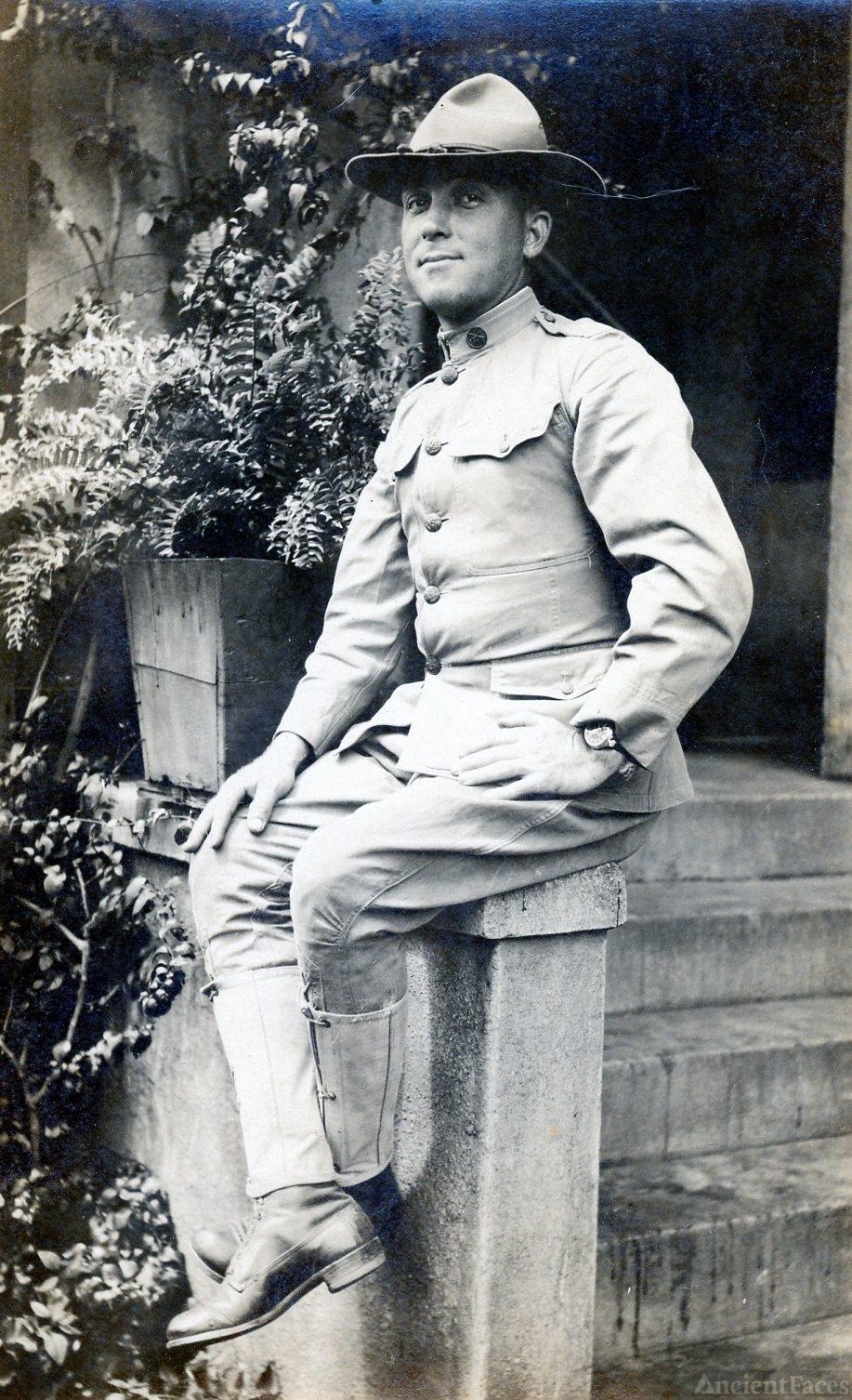 Wiley G. Ellis - US Army - WWI
