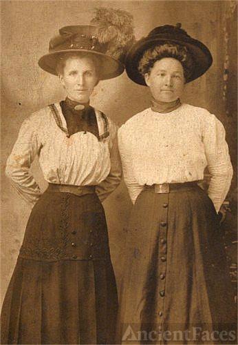 Dora Edna Vaughn and Josie Vaughn