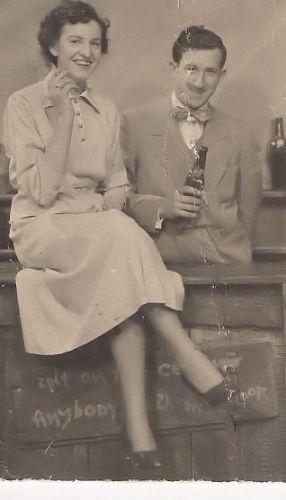 Leota (Spradling) and Sherills Everett