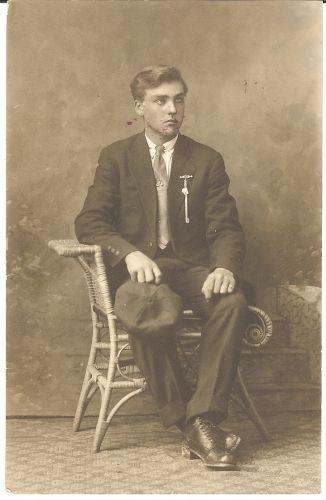 Leo, Grandson of Bertha Olson