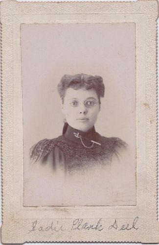 A photo of Sadie Plank Deel