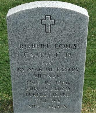 Robert Louis Carlisle Jr grave