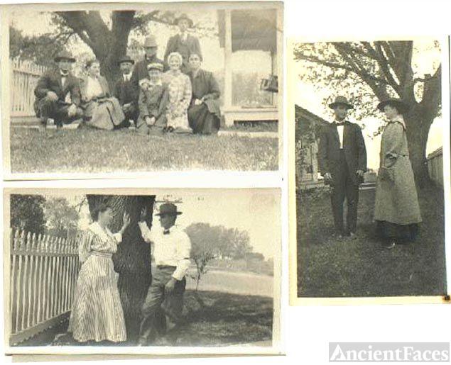 Arthur Henson and Della Sheppard