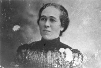 Asa Goins' wife Sara Catherine Hillman