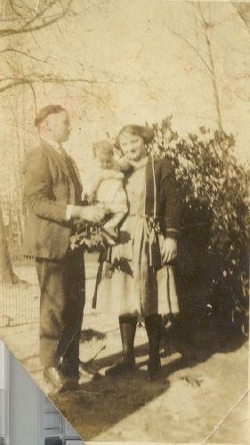 Ida, T. O. and little Christine