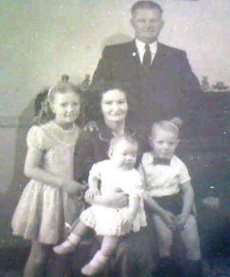 Antoinette Juliana (Van Moerkerken) Stoltz family, 1958