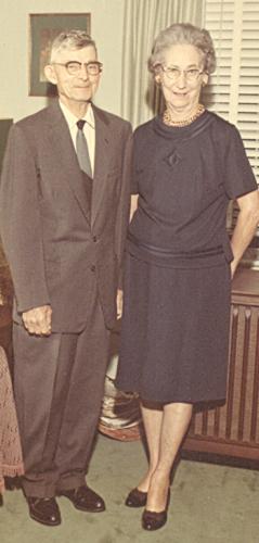 Harry Clifton & Ruth Mary (Mertens) Higgerson abt 1962, Chesapeake, VA