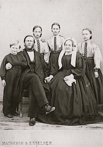 A photo of Marie Christine (Rynning) Heyerdahl