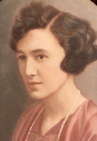 Jewel Catherine (Underwood) Fambrough