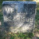 Montgomery D Long Gravestone