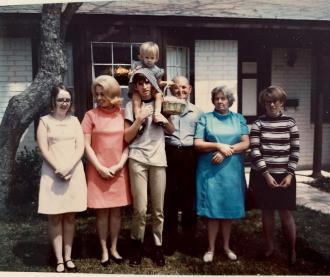 Circa 1968 Easter at Pats