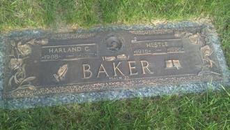 Grave of Hestle Kidd Baker