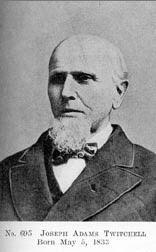 A photo of Joseph Twichell