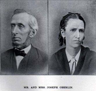 Mr. and Mrs. Joseph Oberlin, Ohio