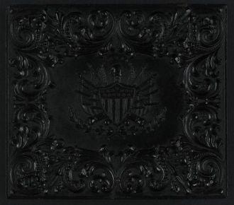 [Union case for daguerreotype, ambrotype, or tintype...
