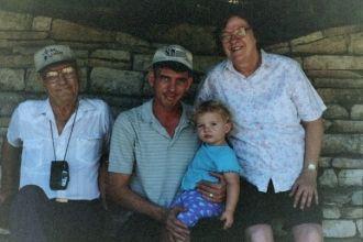 Jack Wilburn Hoch & family