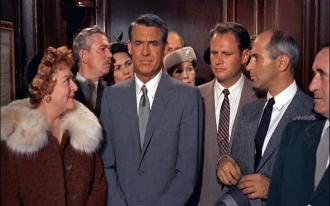 Adam Williams and Cary Grant.