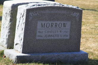 Charles and Jeannette L (Welsch) Morrow