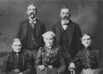 Walter Robt Braden Lewis family