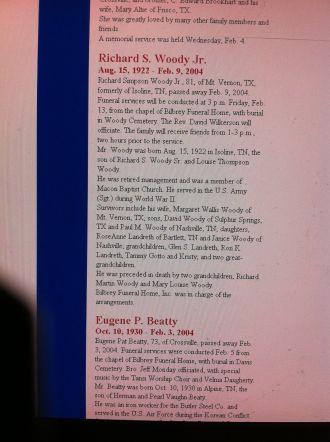 Richard S. Woody Jr.  obituary