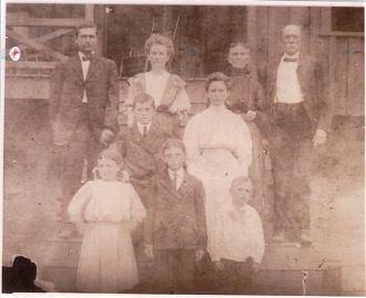 Isaac C. Justice's  Family