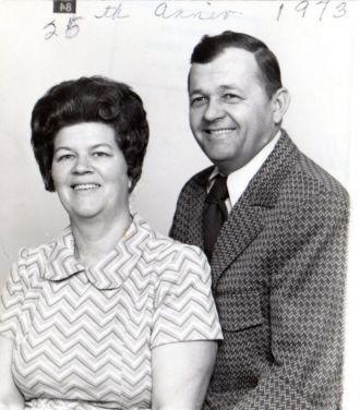 Grace (Downham) and Robert Deel