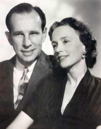 Hume Cronyn and Jessica Tandy