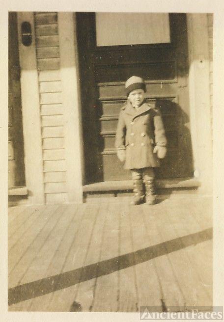 little boy Sonny Cote