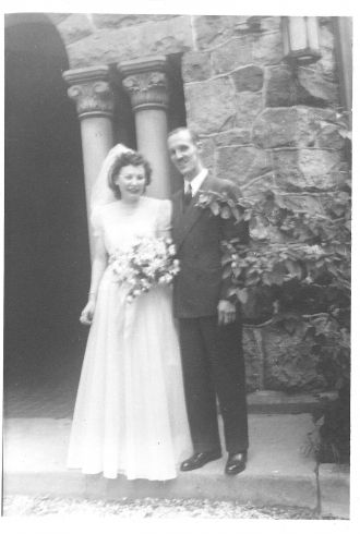 Dorothy Ruth Tandberg Manning wedding