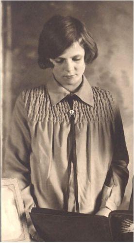 A photo of Eleanor (Jensen) Halverson Washburn Aune