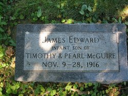 James McGuire Grave