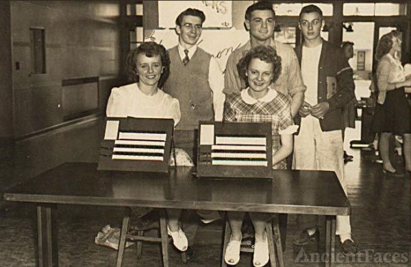 Voting Time May 1946