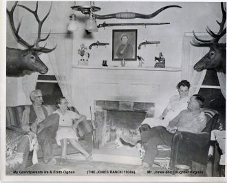 The Great Room on the Jones Ranch