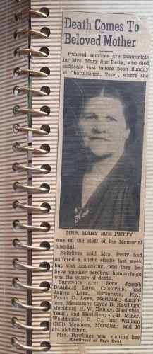 Mary Sue Darden Love Obituary