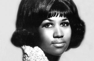 A photo of Aretha Louise Franklin