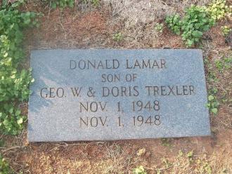Donald Lamar Trexler Gravesite