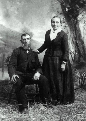 Johannes John Larsen and Anna Jorgensen