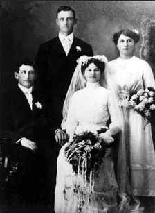 Joseph Barthel and Mathilda Dehen, Minnesota