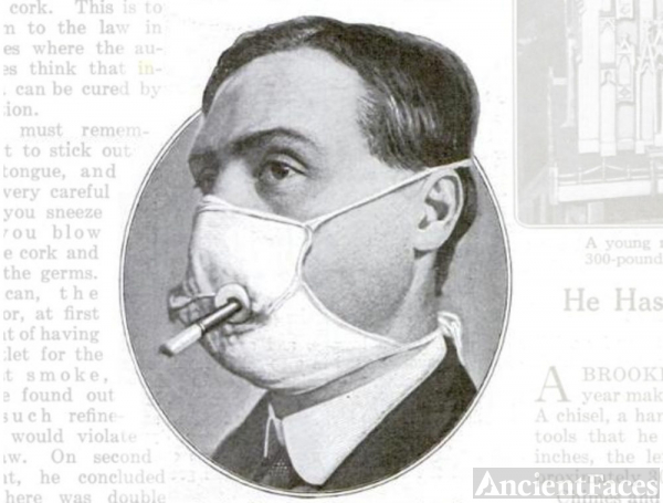 Popular Science Flu Mask
