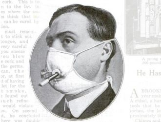 Popular Science Flu Mask