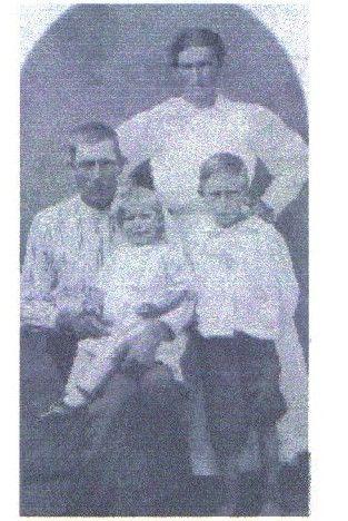 Francis Doan, Allie Leona Adcock & kids