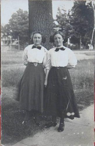 Velma F. Martin and Clella M. Town