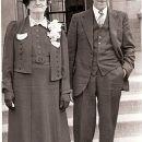 Alma Helen (Keister) Ruge & Charles Keister