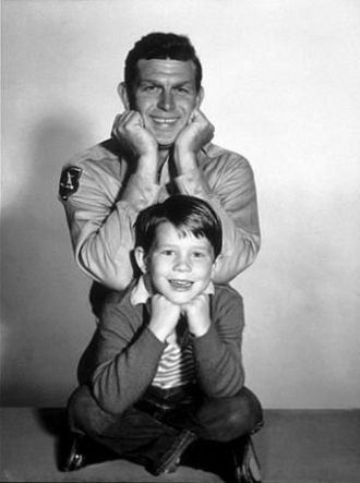 Andy Griffith & Ron Howard, c1960, CA