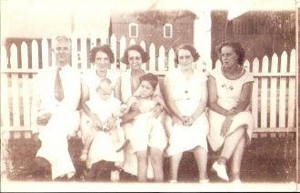 Carl Wichterman & Bauer family