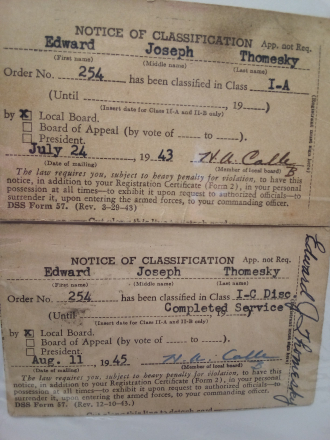 Military papers