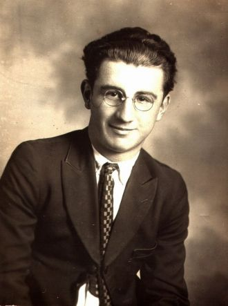 Carlos S. Martinez as a young man